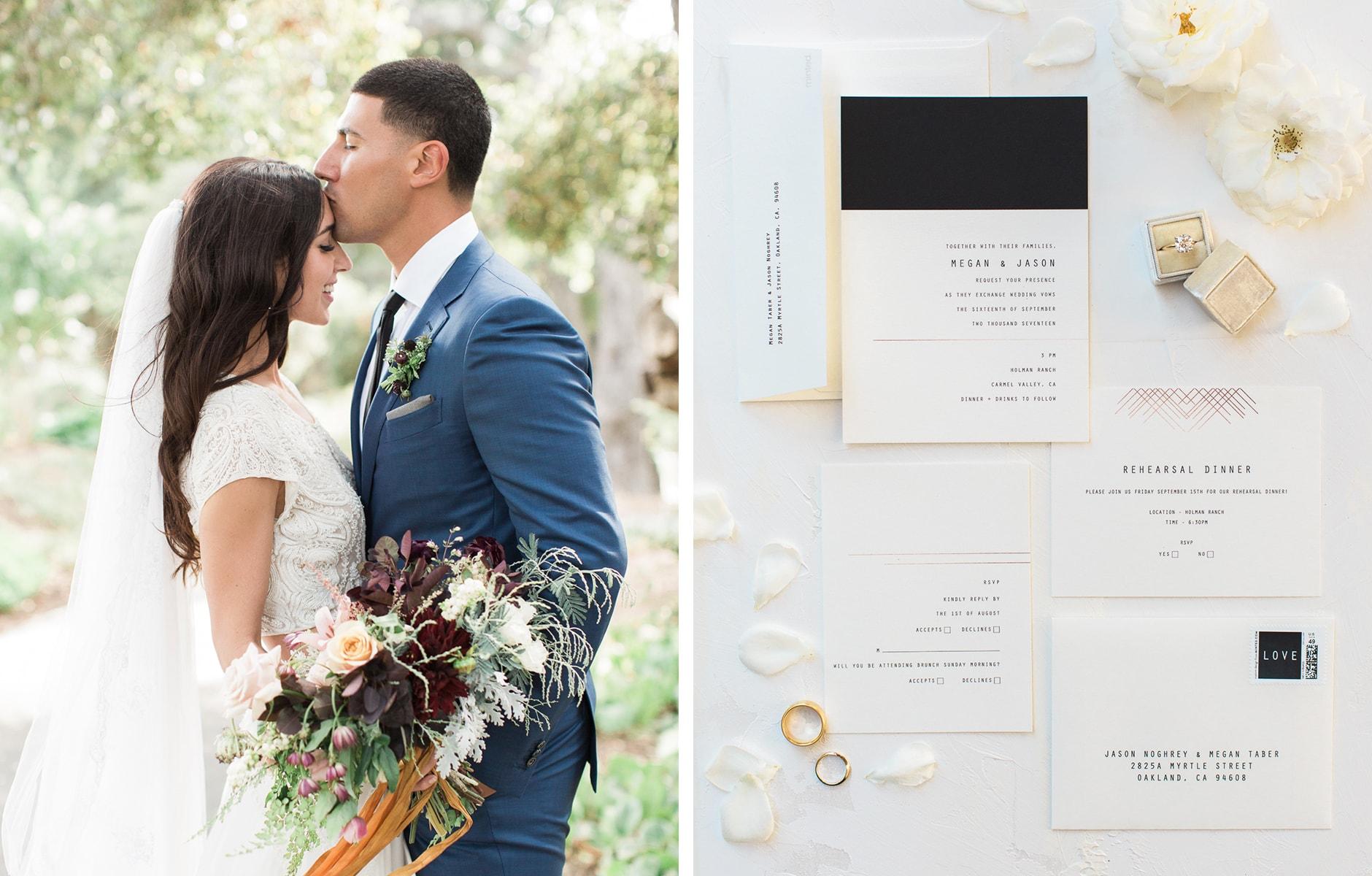 Minted Real Weddings: Megan and Jason - 1