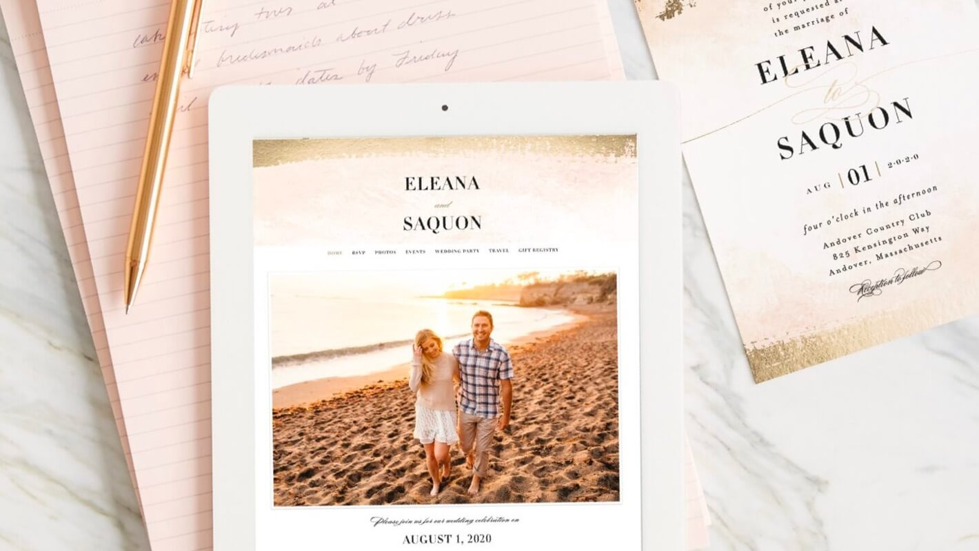 Shop Free Wedding Websites