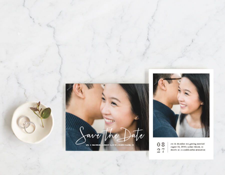 Get your FREE Personalized Save the Date Sample