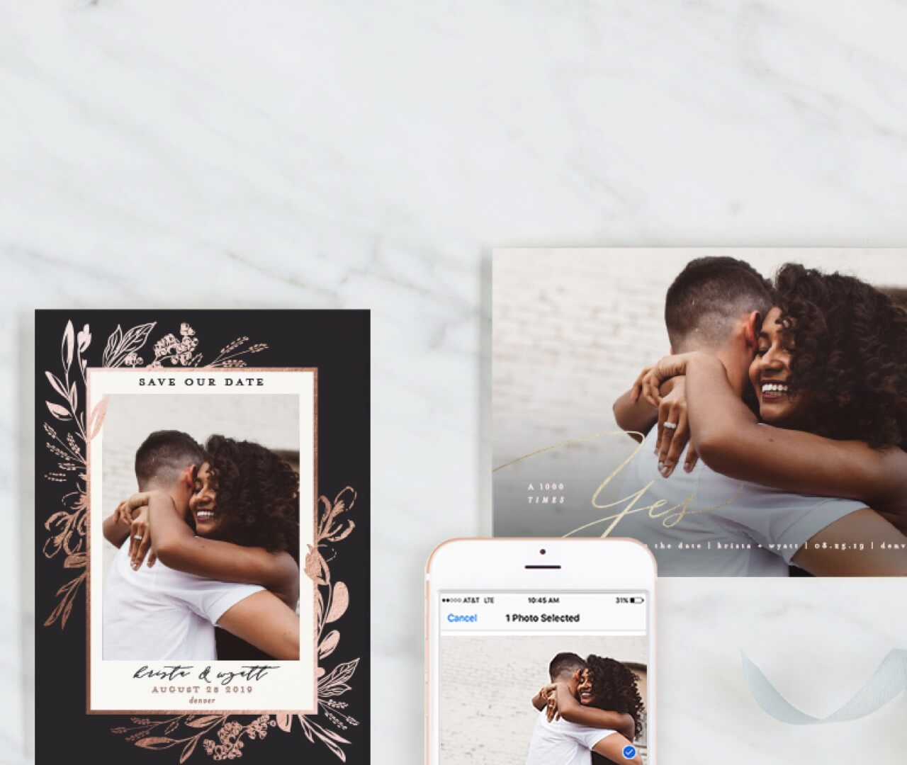 Effortless Save the Dates