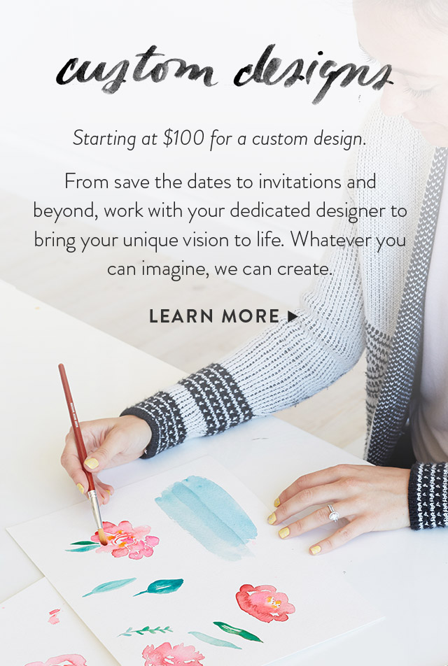 Learn More About Custom Designs