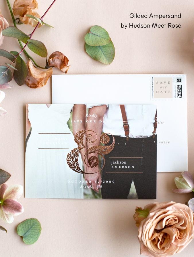 Gilded Ampersand by Hudson Meet Rose