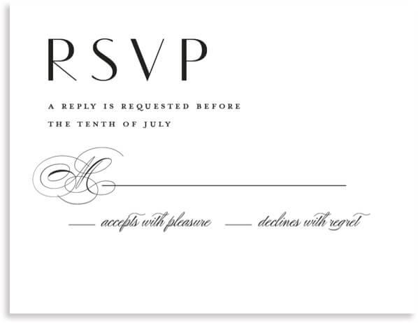 Formal RSVP