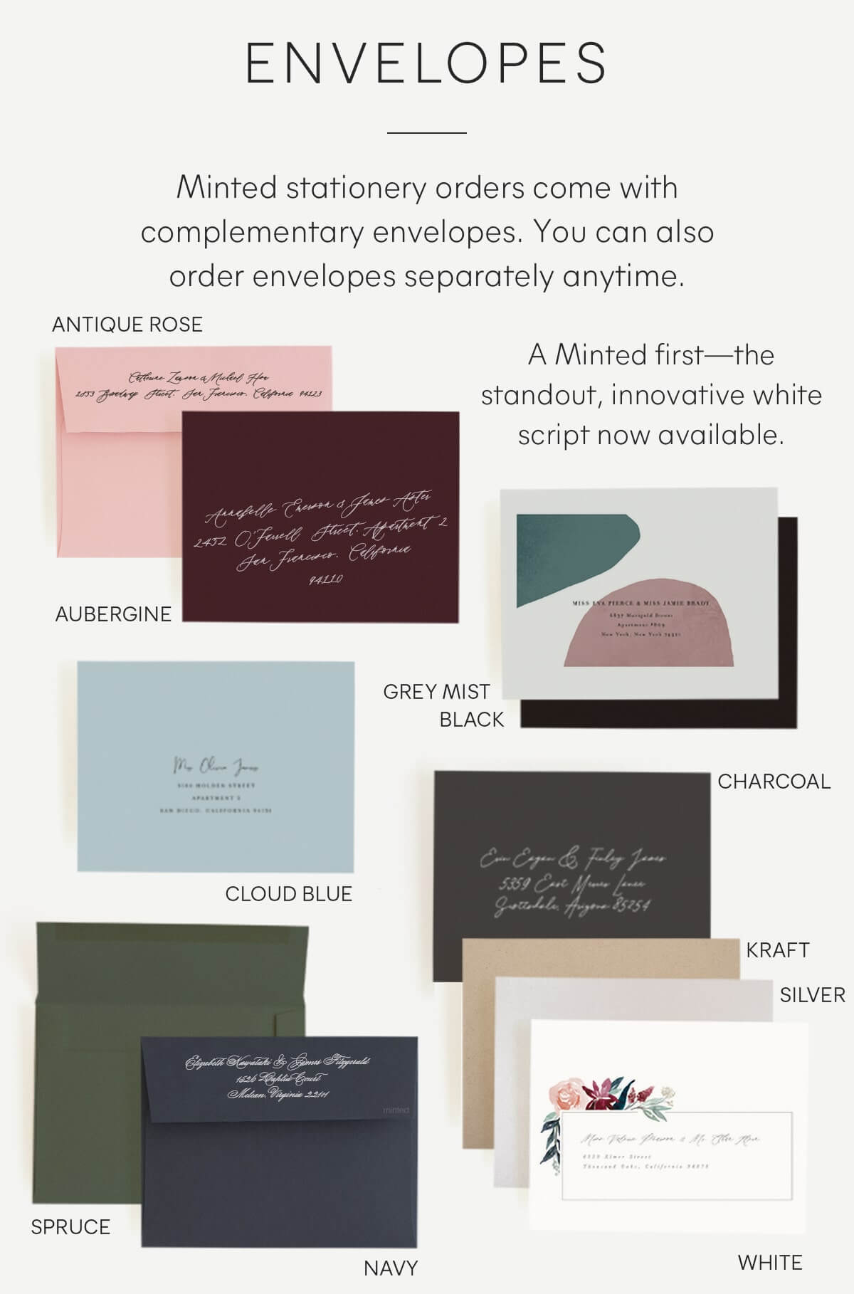 Minted Envelopes image