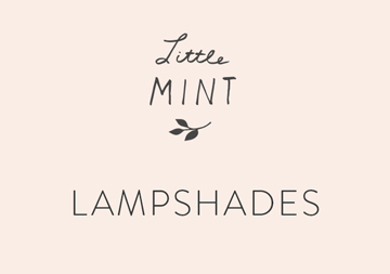 little mint lampshades