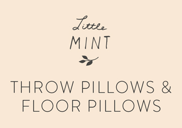little mint pillows