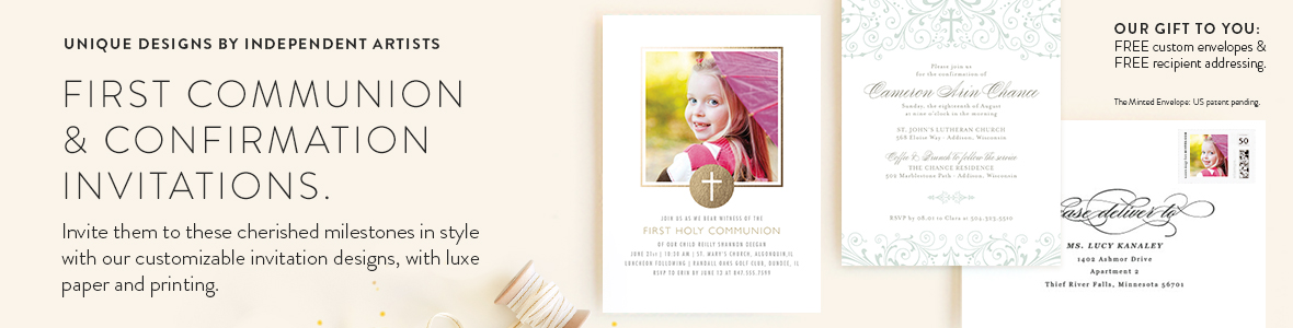 Communion Invitations Announcements