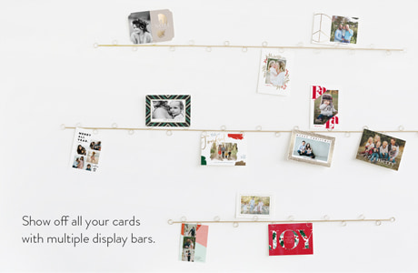 Show off all your cards with multiple display bars.