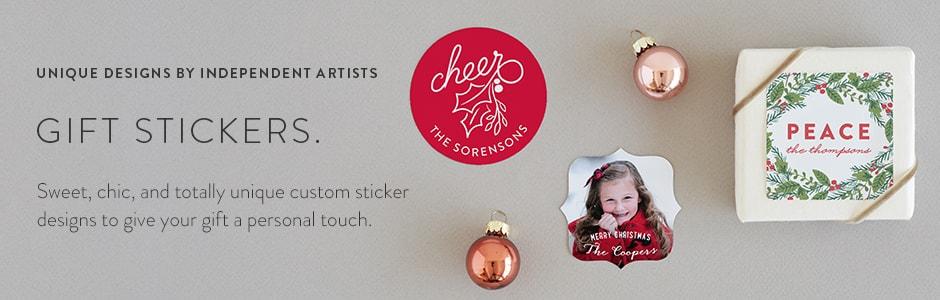 unique sticker gifts