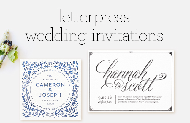 letterpress wedding invitations minted With letterpress wedding invitations order online