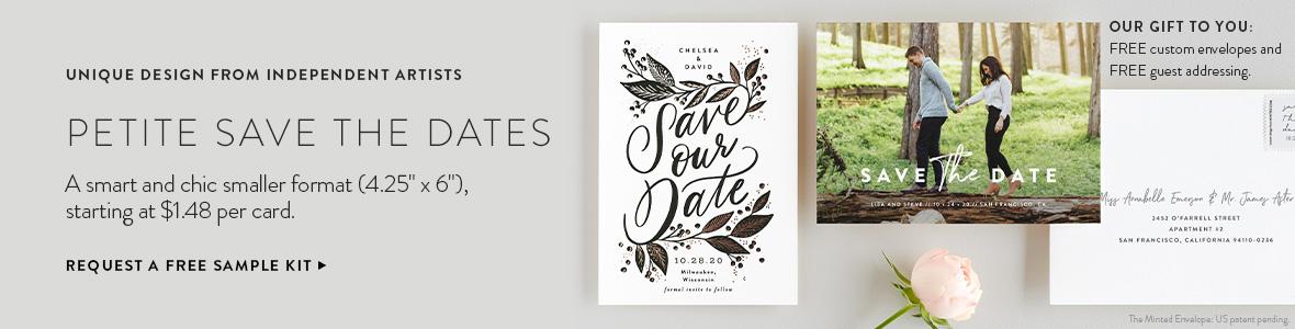 Petite Save the Dates
