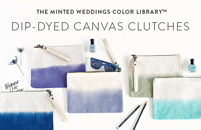 Canvas Clutch