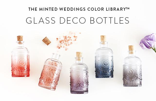 Glass Deco Bottle