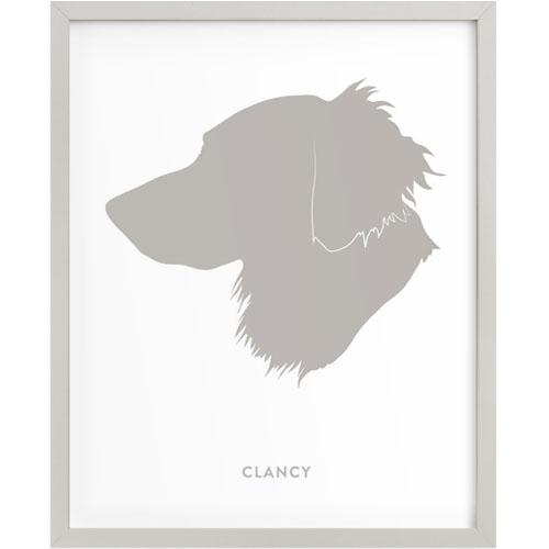 Custom Pet Silhouette Art