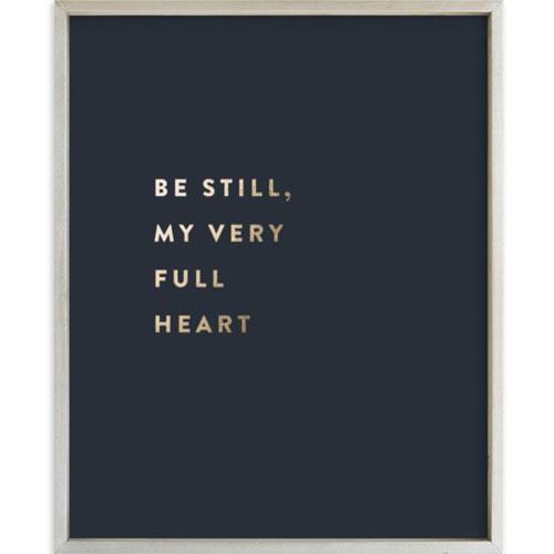 Foil-Pressed Custom Quotes Art Print