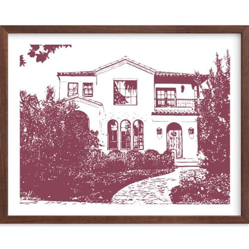 House Portrait Art