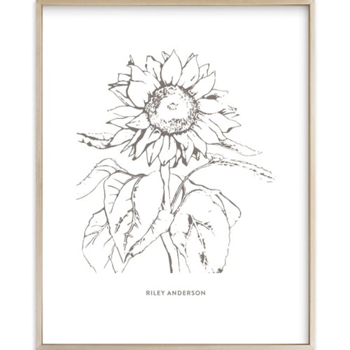 Your Drawing as an Art Print