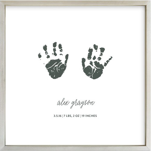 Custom Footprints & Handprints Art Print