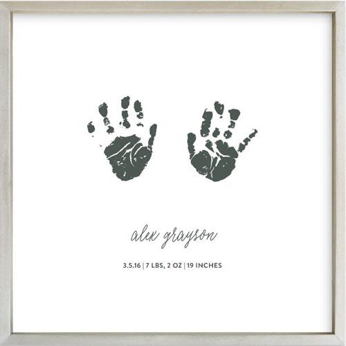 Custom Footprints & Handprints Art Print