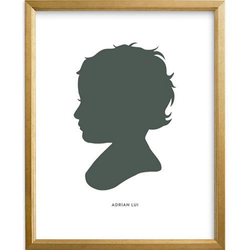 Custom Silhouette Art with Text