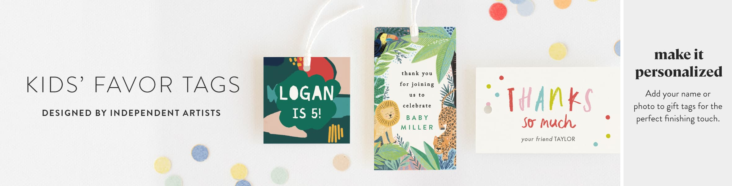 Kids Gift Tags