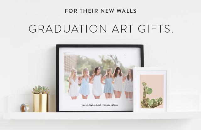 graduation art gifts