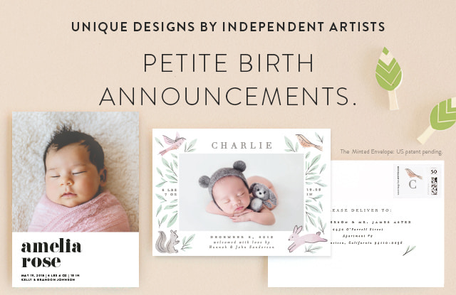 Petite Birth Announcements