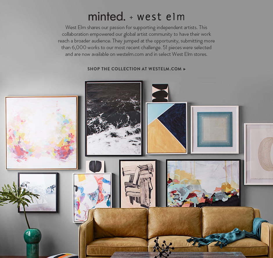 West Elm Landing Page