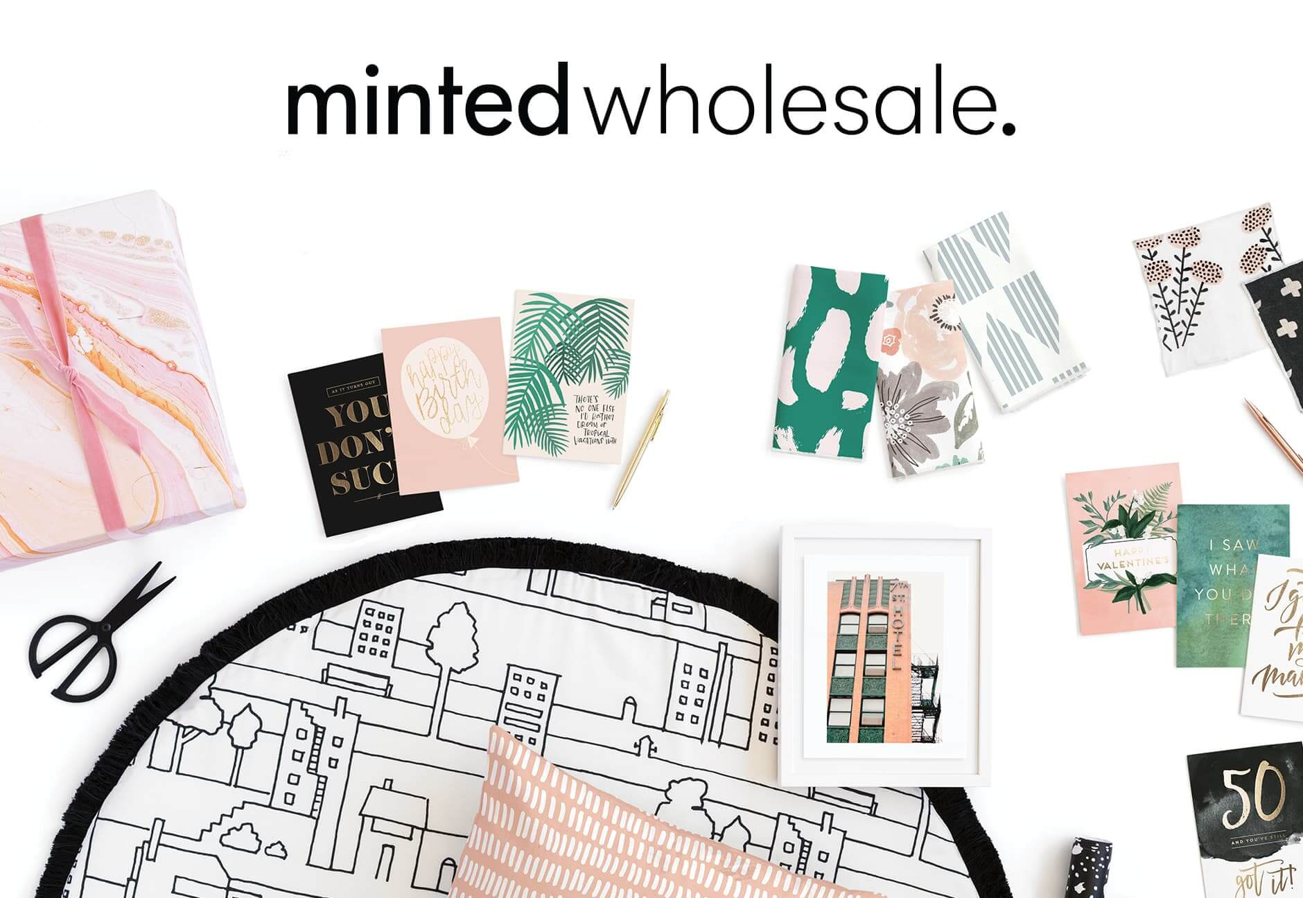 Minted Wholesale