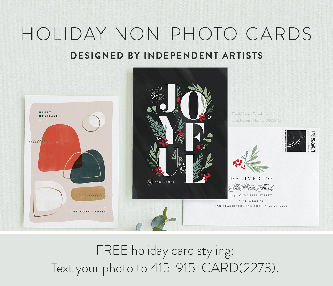 Holiday Non-Photo Cards