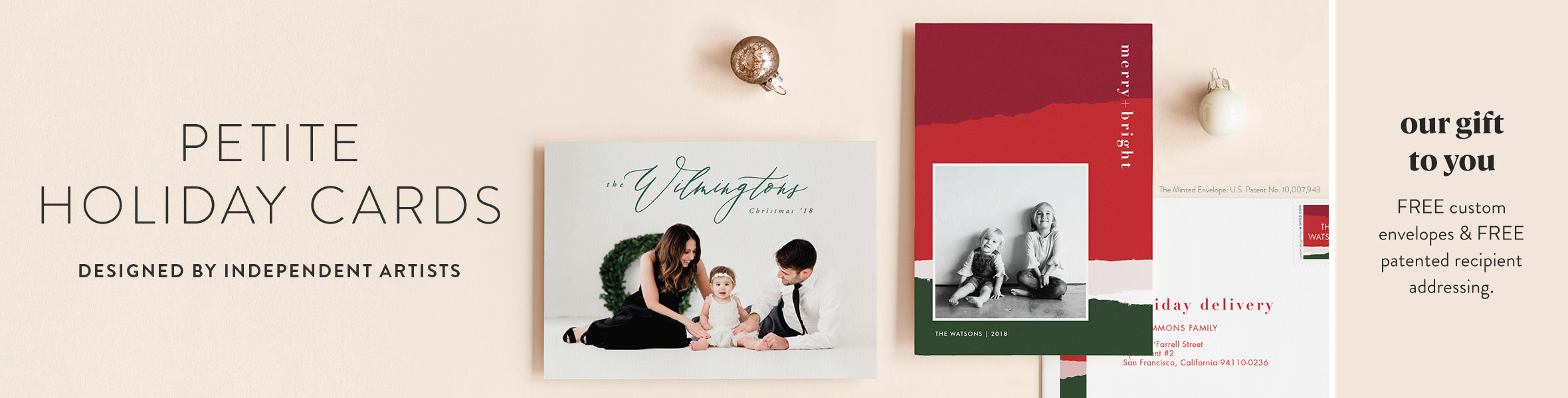 Petite Holiday Cards