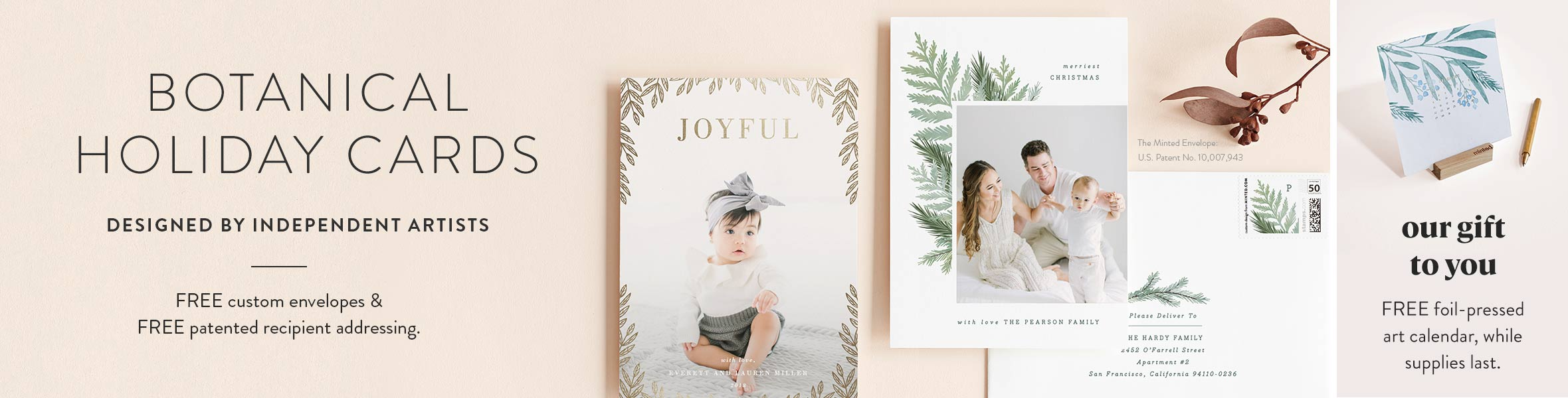 Botanical Christmas Cards