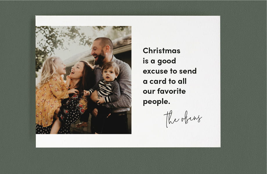 Christmas Card Sayings, Wishes & Quotes