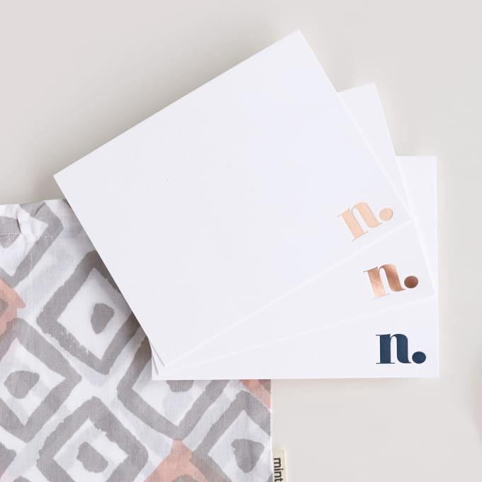 Letterpress Stationery Sets