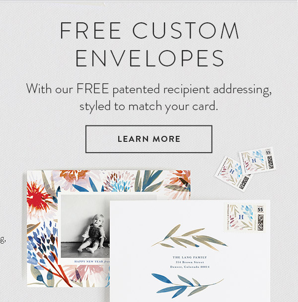 Free Custom Envelope