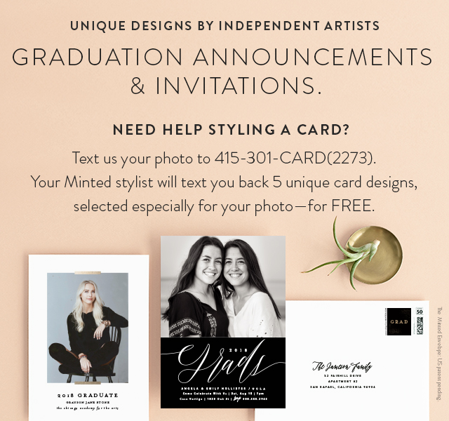graduation announcement invitations