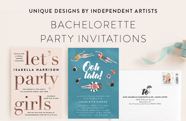 Bachelorette Party Invitations