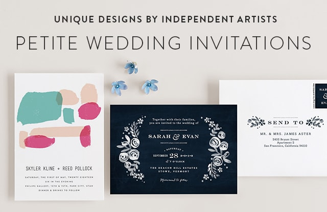 Petite Wedding Invitations