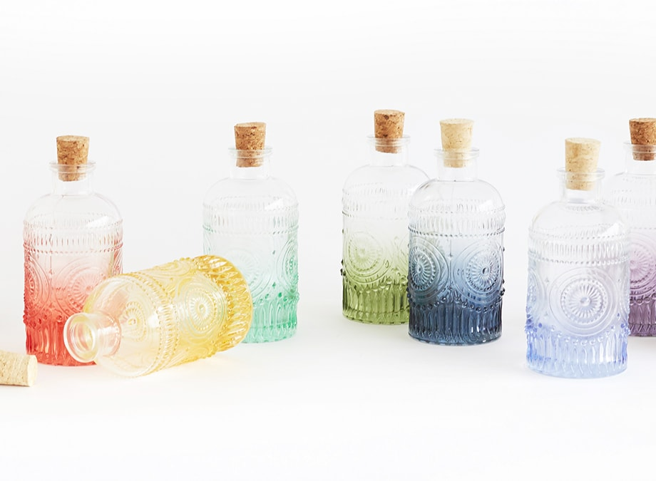 Deco Glass Bottles