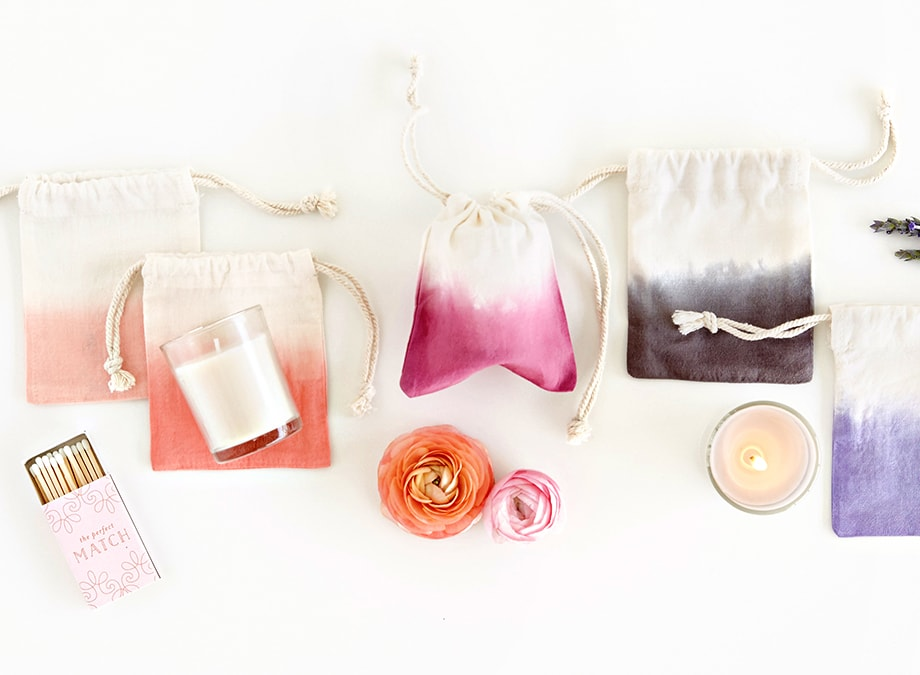 Votive Candles in Pouches