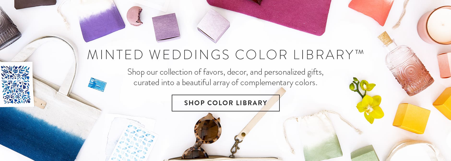 Minted Weddings Color Library