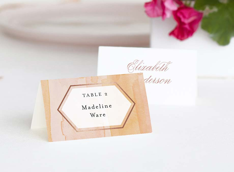 Place & Escort Cards