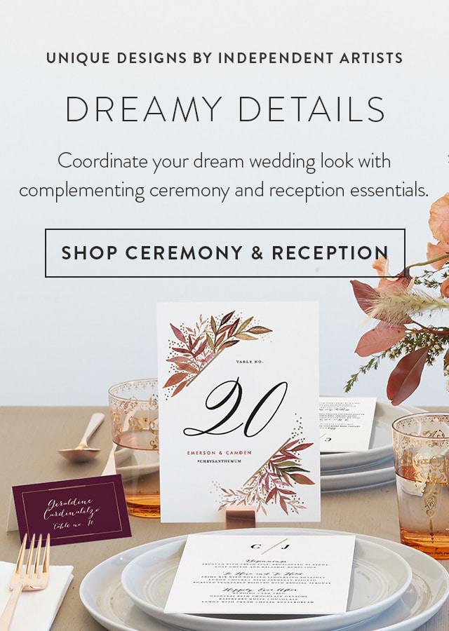 Wedding Ceremony & Reception Essentials