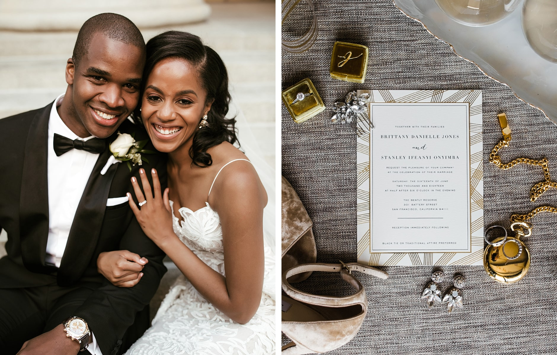 Minted Real Weddings: Brittany and Stanley - 1