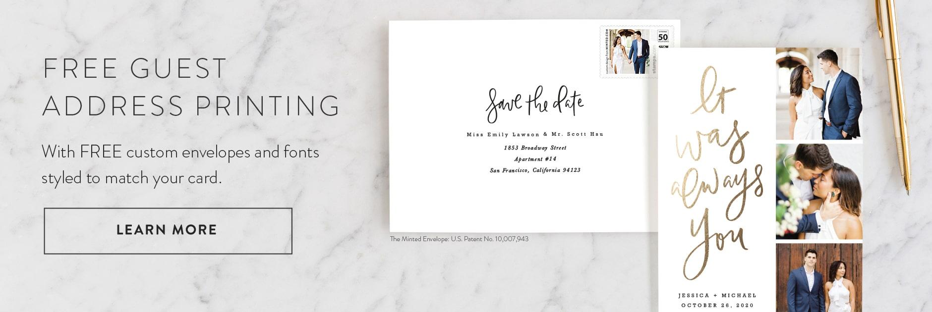Free Custom Envelope