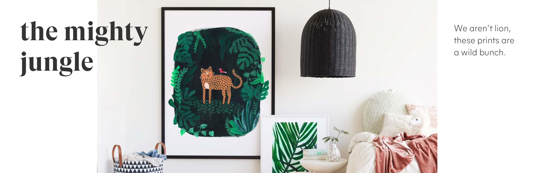 Jungle Art - Children's Art Collection