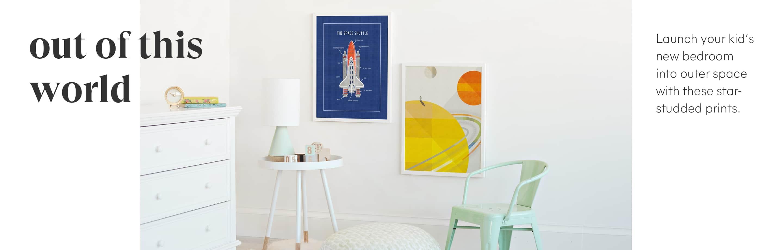 Space Art - Children's Art Collection