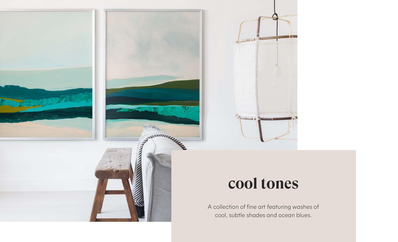 Cool Tone Fine Art Pairs