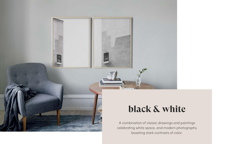 Black and White Fine Art Pairs