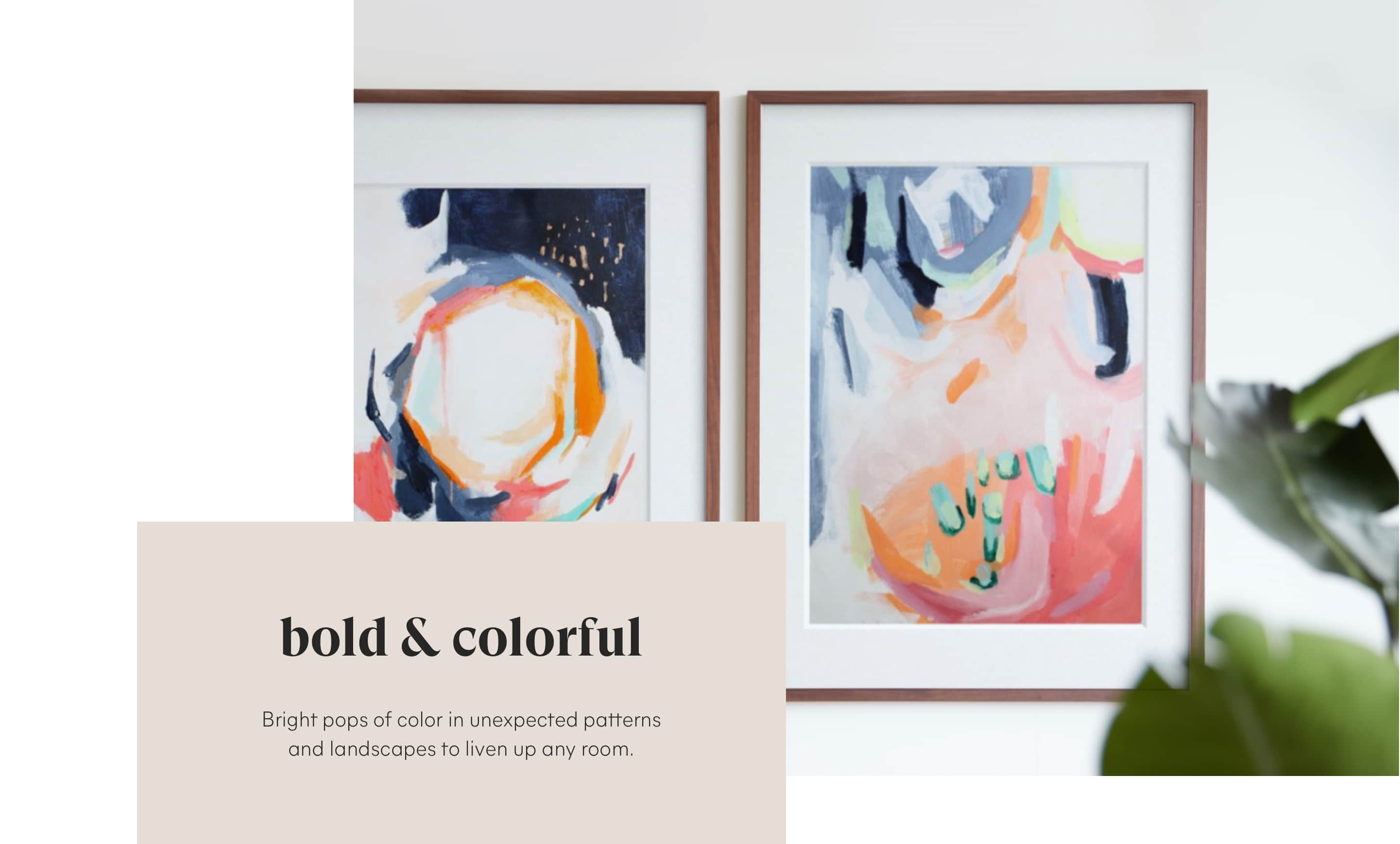 Colorful Fine Art Pairs